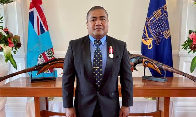 LEMEKI LENOA RECEIVES ORDER TO FIJI FOR PRE-HOSPITAL CARE